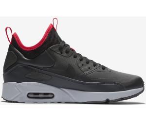 Nike Air Max 90 Ultra Mid Winter Triple Black 924458 00