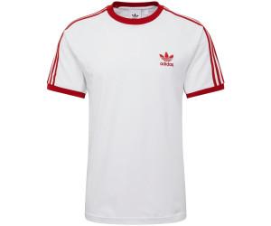11fc30bdb3121 Adidas 3-Stripes T-Shirt white/power red ab 23,96 € | Preisvergleich ...