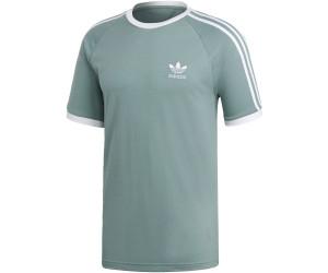 Adidas 3 Stripes T Shirt vapour steel desde 23,49