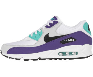 e22d18c7635c Buy Nike Air Max 90 Essential white black hyper jade court purple ...