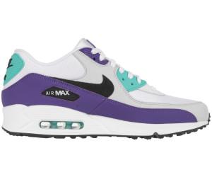 Nike Air Max 90 Essential white/black/hyper jade/court purple au ...