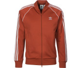 red adidas track jacket uomo
