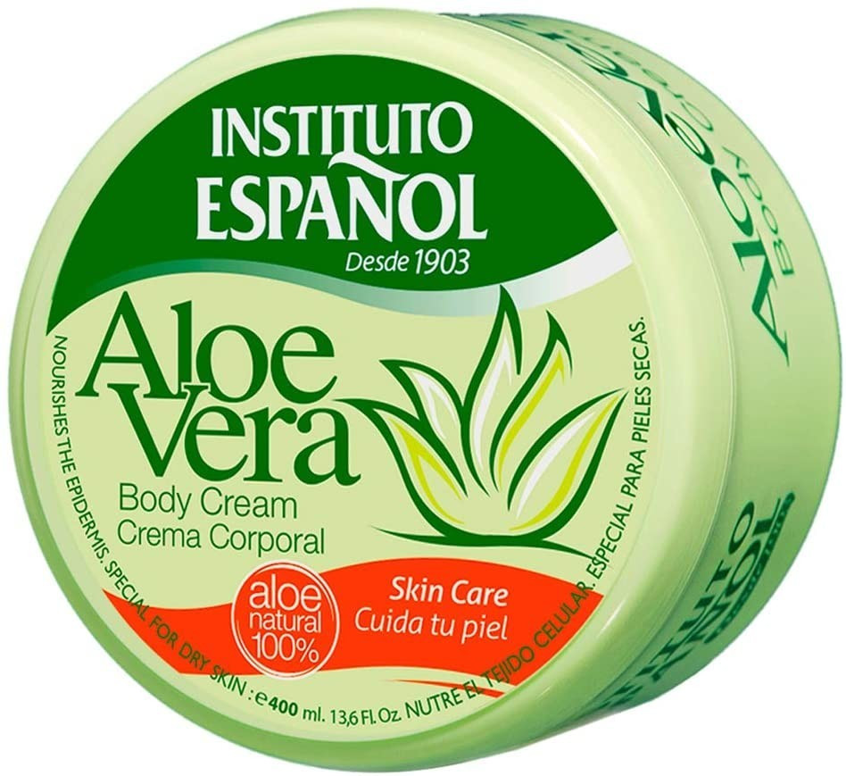 Instituto Español Body Cream Aloe Vera (400 ml)