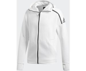 adidas Herren Hoodie Z.N.E feat. Fast Release Zipper DM5543 XXL zne htrblack | XXL |
