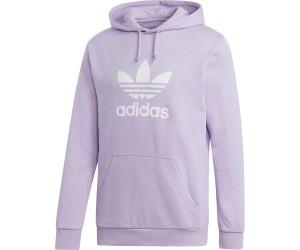 Adidas Orginals Trefoil Hoodie Men purple glow (DV1503) ab