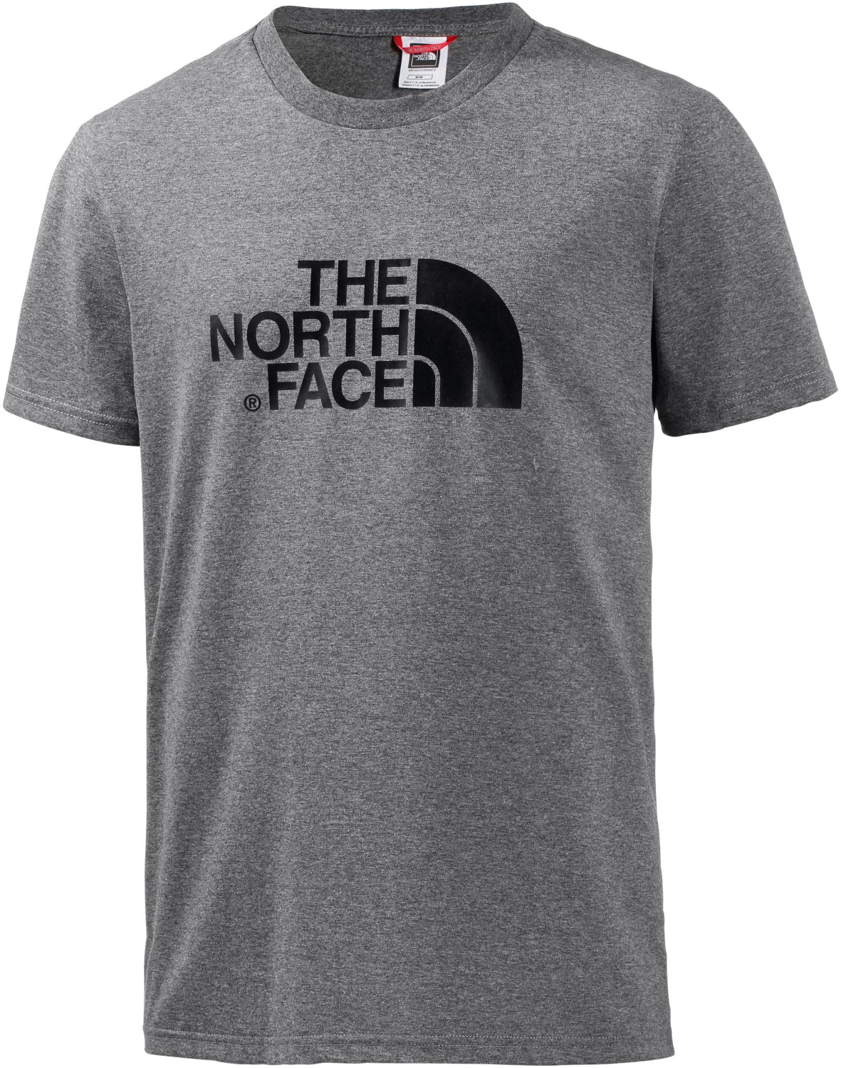The North Face Men's S/S Easy Tee medium grey heather