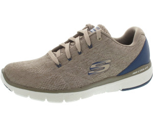 Skechers Herren Flex Advantage 3.0 Stally Sneaker, Beige