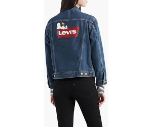 Levi´s ® Damen Jacke Jeansjacke EX Boyfriend Trucker Peanuts
