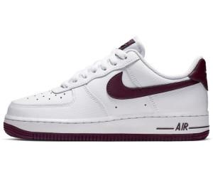 Nike Air Force 1 07 White Bordeaux Sneaker herren