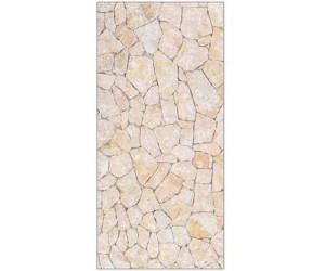 mySPOTTI Duschrückwand Natursteinwand beige 100x210 cm