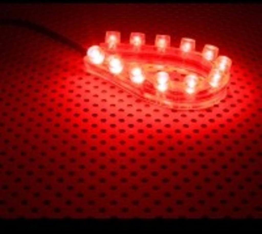 Image of Lamptron FlexLight Standard 12x Red