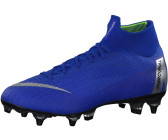 official photos 4b348 f983a Nike Mercurial Superfly VI Elite SG-Pro Anti-Clog Racer Blue Mtllc Silver