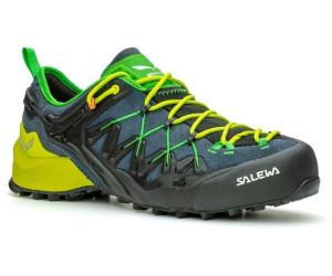 Salewa Herren Wildfire Edge Schuhe ombre blue fluo yellow UK