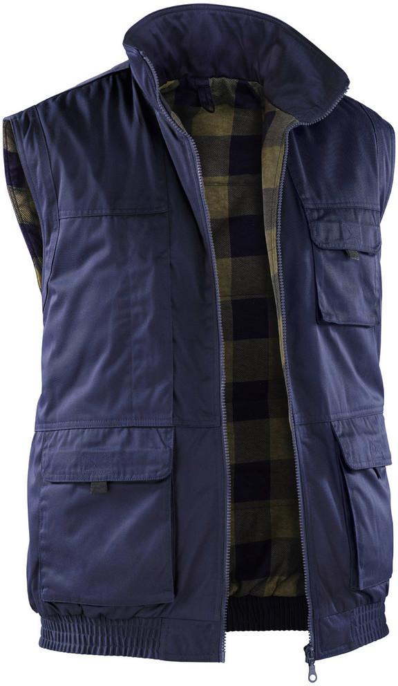 Kübler Wetter-Dress Weste dunkelblau