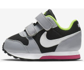 nike md runner 2 wolf grey black white