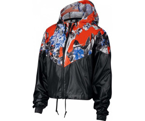 Nike Windrunner Crop Jacket Women floralprint black au