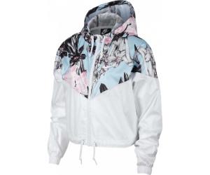 Nike Windrunner Crop Jacket Women floralprint au meilleur