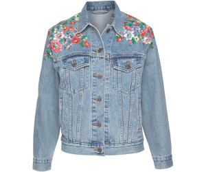 54cdedd8ed6d Levi's Ex-Boyfriend Trucker Jacket hearts of flower ab 78,99 ...