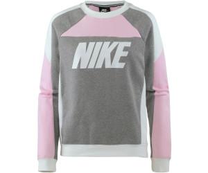 Sweatshirt Sportswear Nike Pink Foamcarbon Heatherwhitewhite nvm0Nw8O