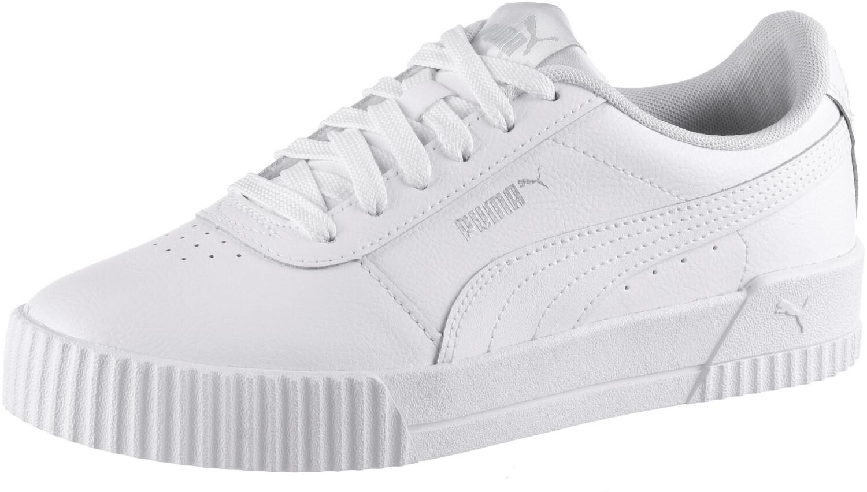 Rabatt-Preisvergleich.de - PUMA Carina L Sneakers Low weiß Damen Gr. 42