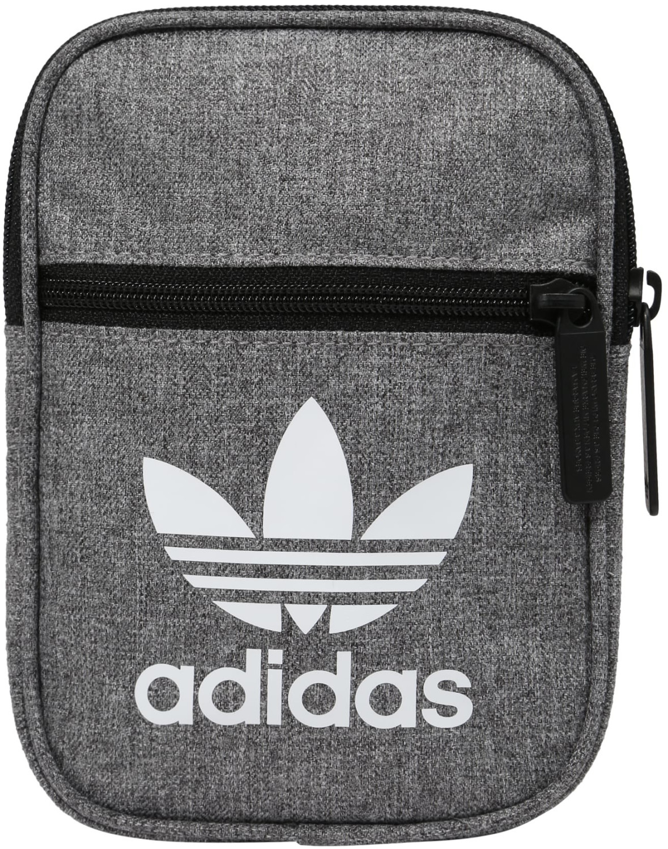 Adidas Trefoil Casual Festival Bag grey/white