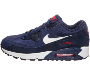 nike air max 90 essential trainer midnight navy blanc