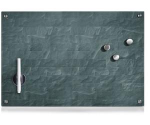 nobo® Glas-Magnetboard Diamond 100 x 56 cm weiß 1905176