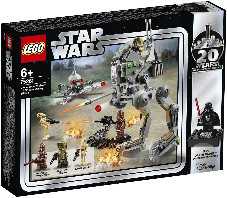 LEGO Star Wars - Clone Scout Walker - Édition 20ème anniversaire (75261)