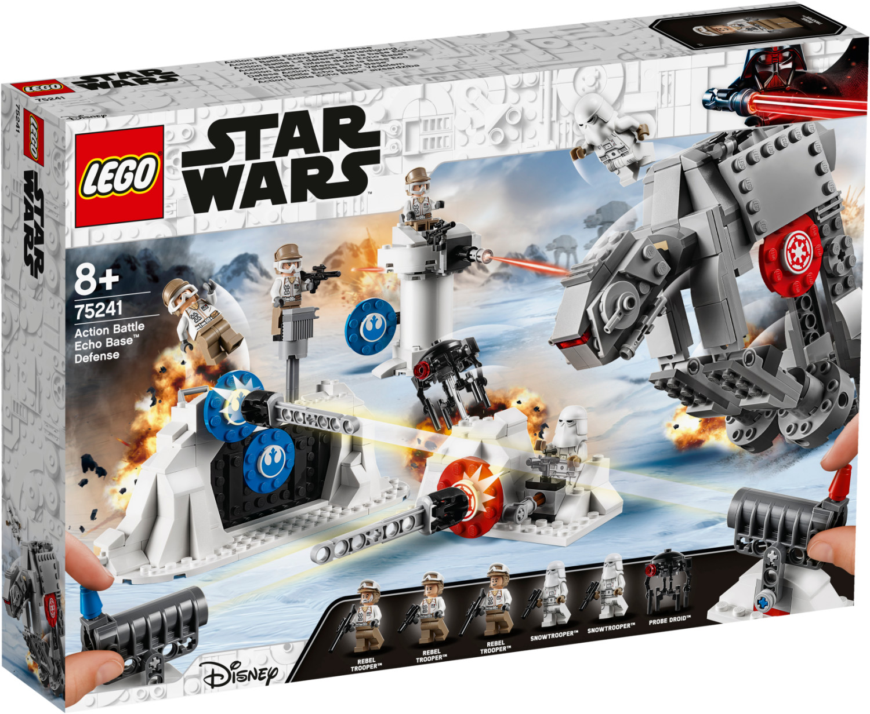 LEGO Star Wars - Action Battle La défense de la base Echo (75241)