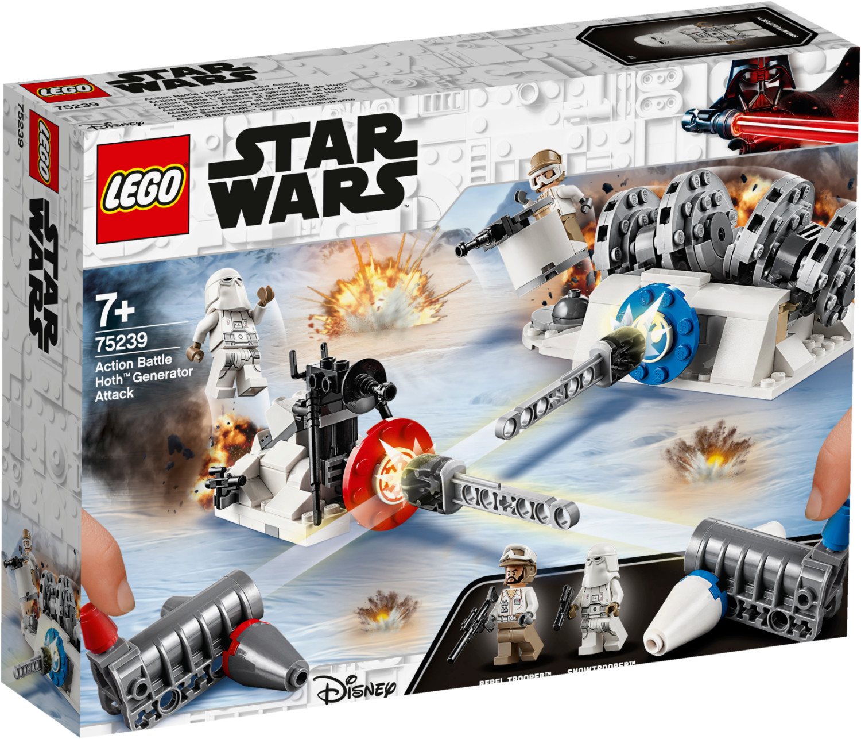 LEGO Star Wars - Action Battle L'attaque du générateur de Hoth (75239)