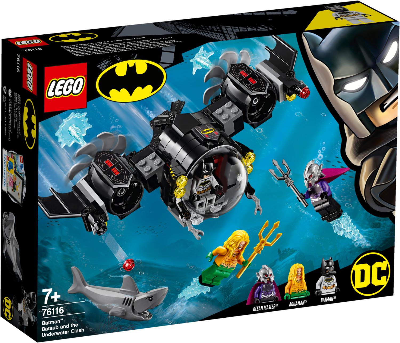 LEGO DC Super Heroes - Le Bat-Sous-Marin de Batman et le combat sous l'eau (76116)