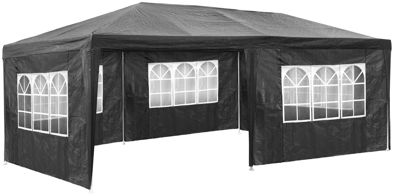 TecTake Pavillon 3 x 6 m grau
