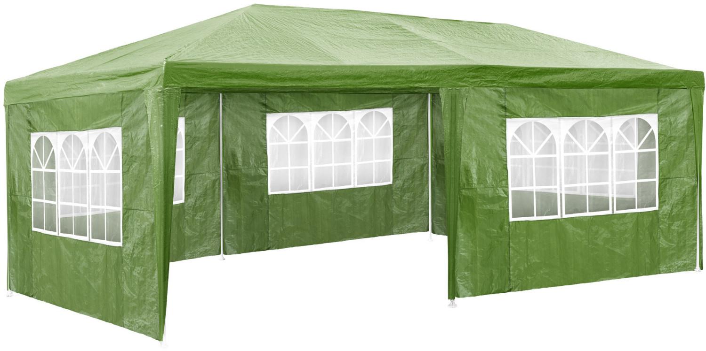 TecTake Pavillon 3 x 6 m grün