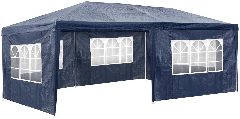 TecTake Pavillon 3 x 6 m blau