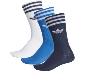 Adidas 3 Pack Solid Crew blue7white (DW6827) ab 9,00
