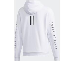 Adidas Sport 2 Street Doubleknit Sweat Hoodie white (DV3337