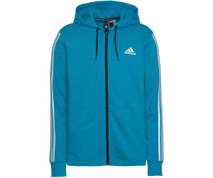 Adidas Must Haves 3 Stripes French Terry Full Zip Hoodie au