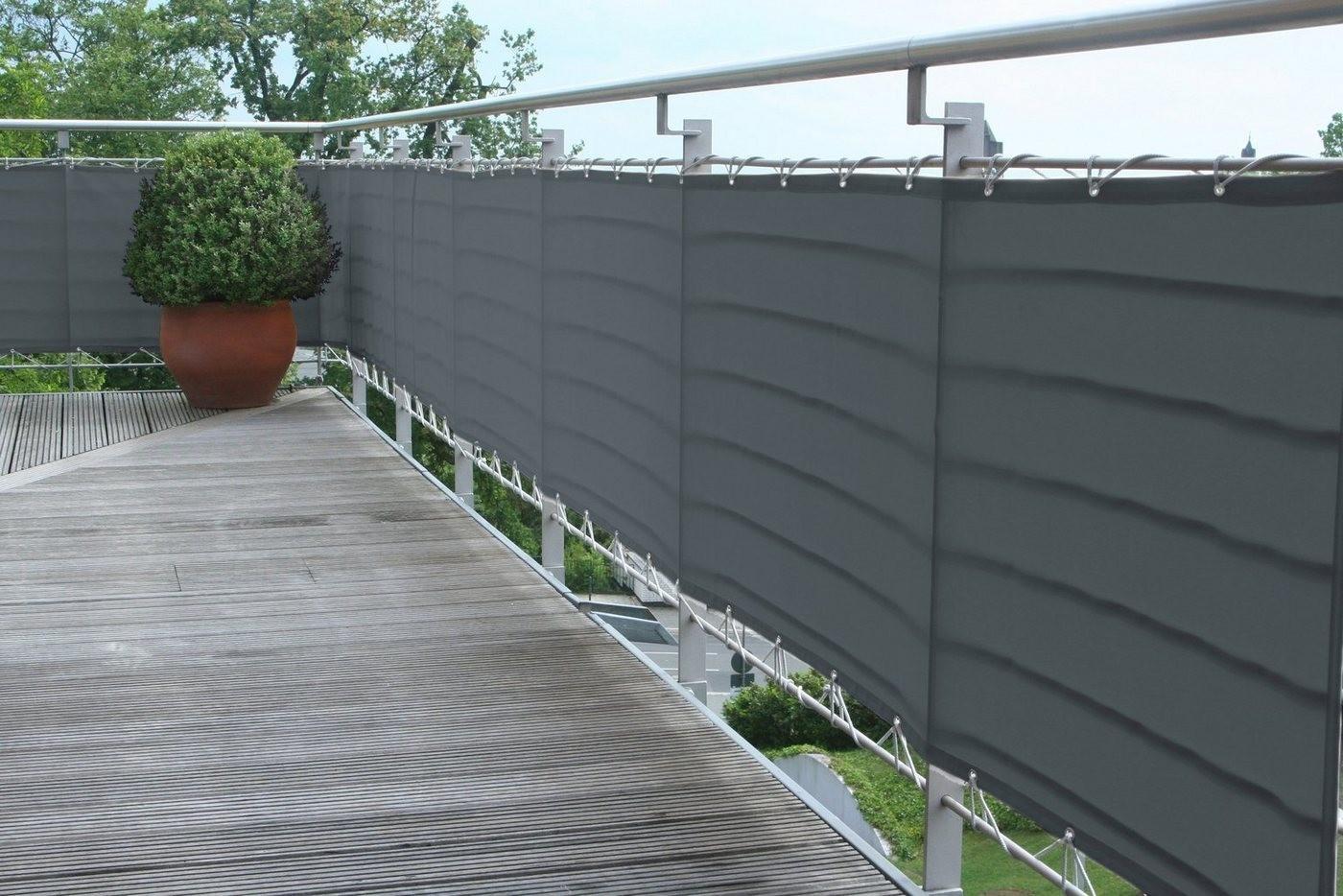 Floracord Balkonverkleidung 75x500cm
