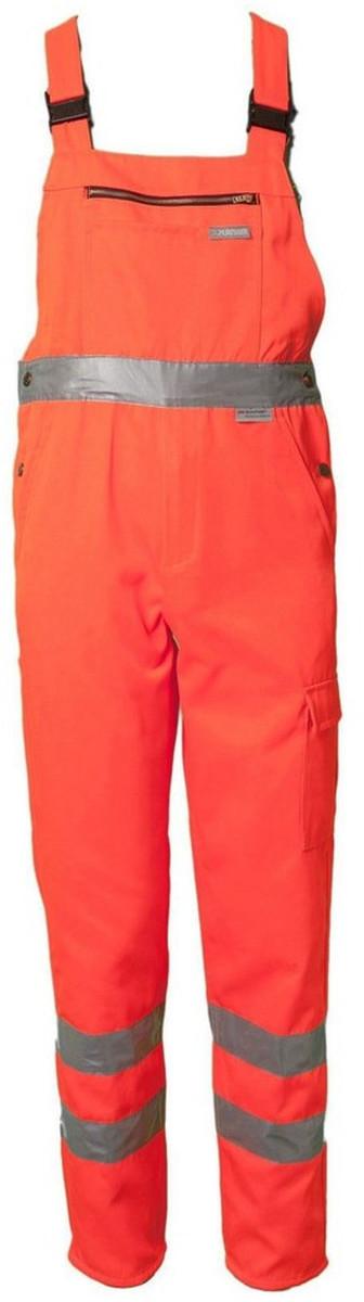 Planam Warnschutz Latzhose Uni Orange 2021