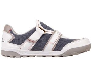 Kappa SASBY Herren Casual Sneaker Schuhe Klett weissblau