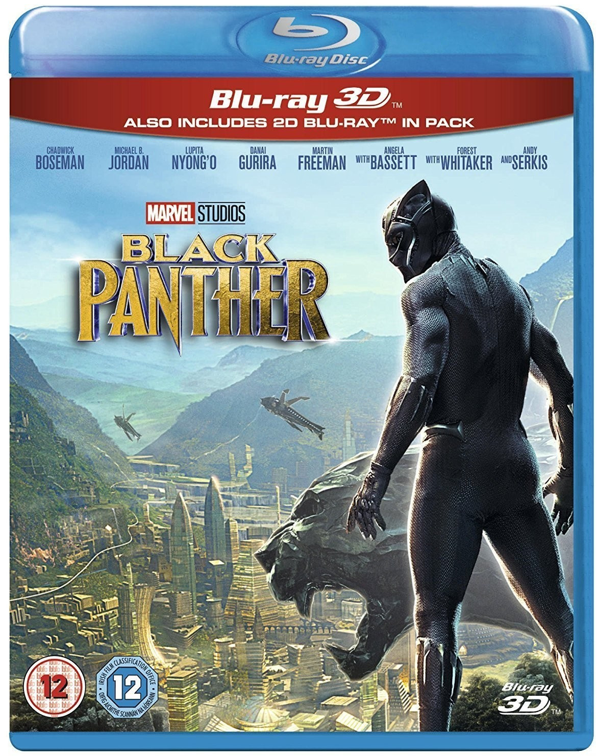 Image of Black Panther 3D (+2D) [Blu-ray] [2018]