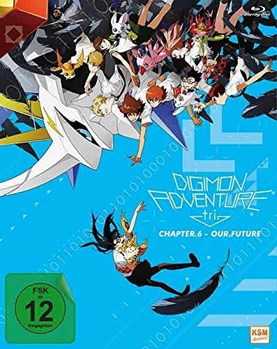 #Digimon Adventure tri. – Chapter 6 – Our Future [Blu-ray]#