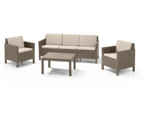 Allibert Lounge set Chicago au meilleur prix sur idealo.fr