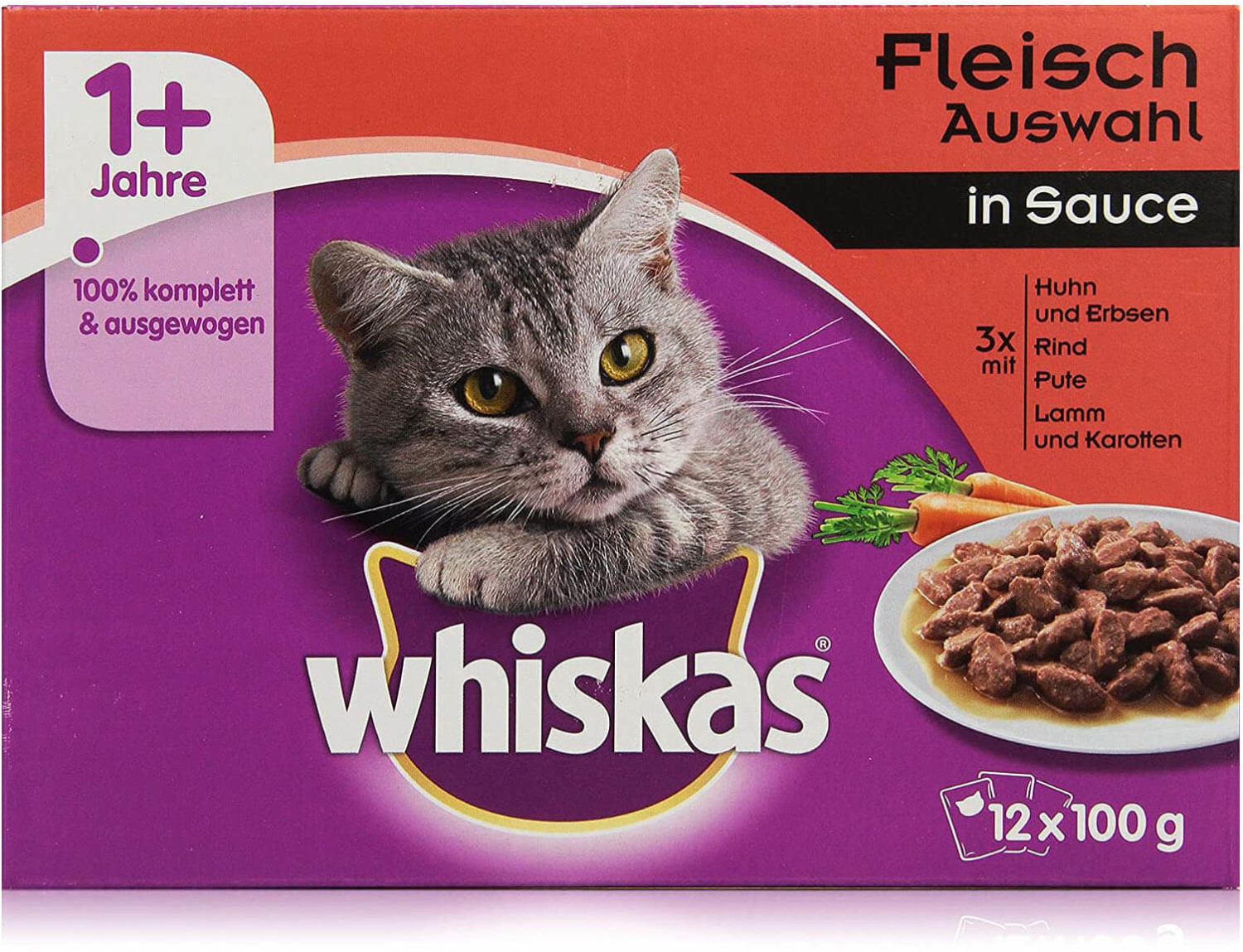 Image of Whiskas Multipack Hearty Ragout in Sauce