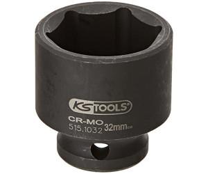 kurz 20mm 515.1020 Ks/_Tools 1//2 Sechskant-Kraft-Stecknuss