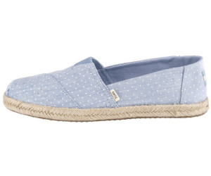 Toms Shoes Tiny Chambray Dots Espadrilles Women (10013520