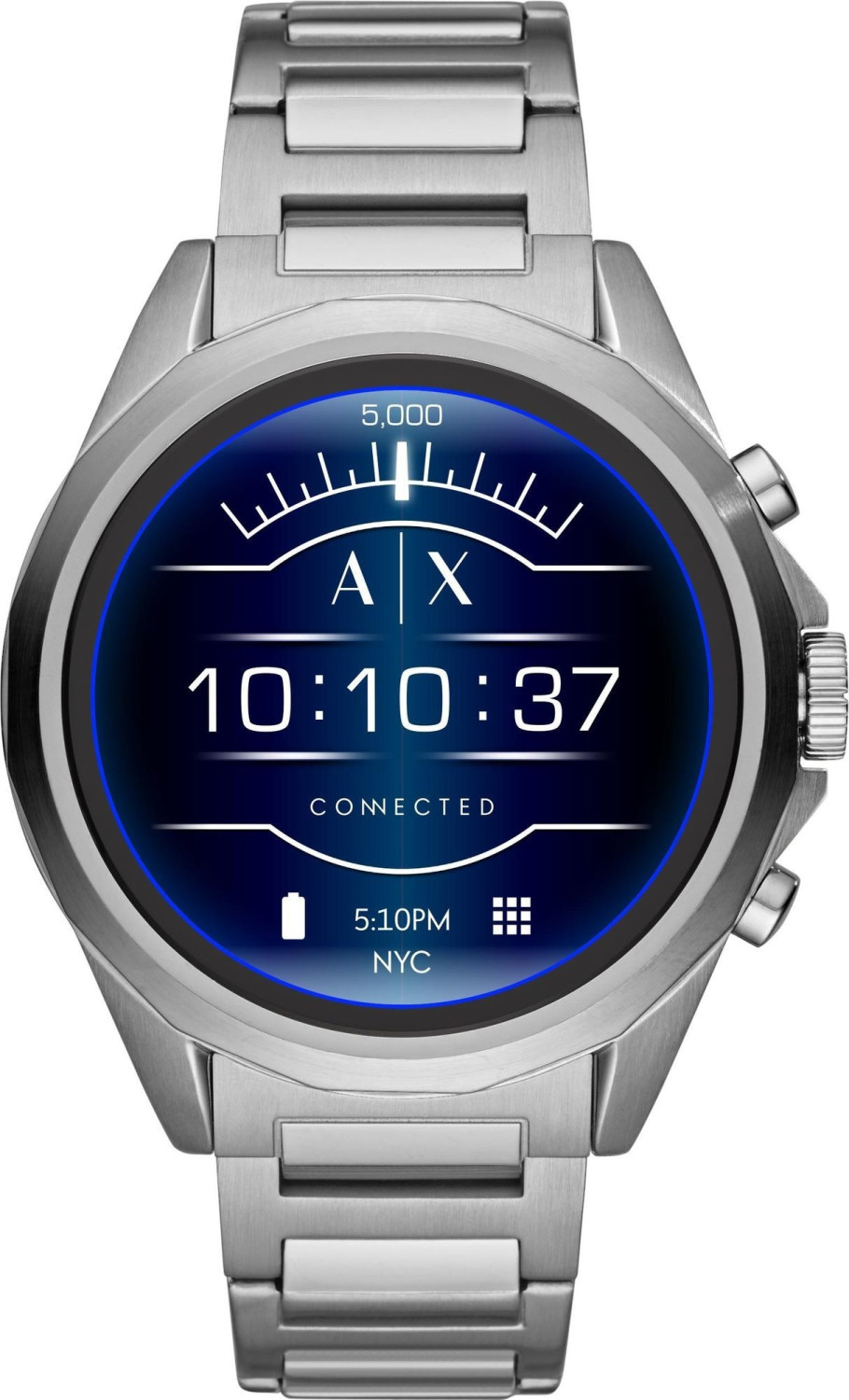 Image of Armani Exchange Connected Touchscreen Silver