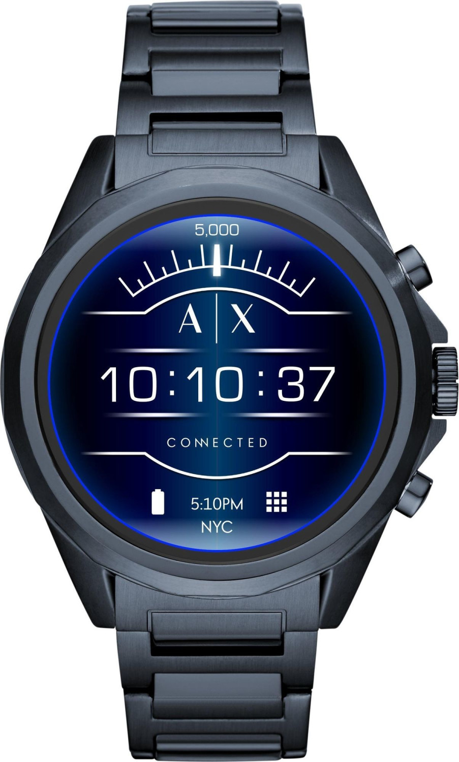 Image of Armani Exchange Connected Touchscreen Blue
