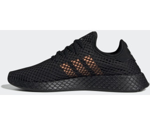 reasonably priced best cheap lower price with Adidas Deerupt Runner core black/easy orange/ftwr white ab ...