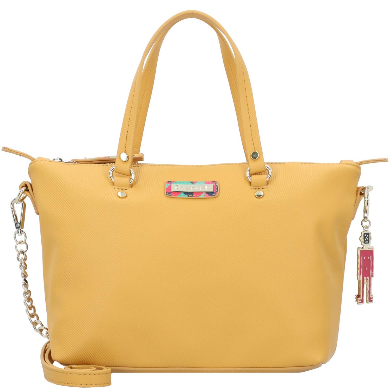 Desigual Bolso de las Señoras Color: Amarillo #124524
